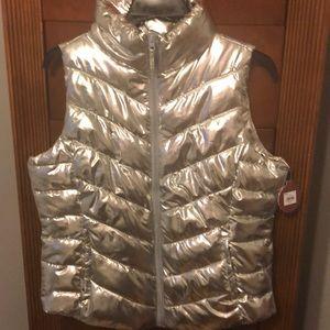 Lovely silver vest!!💎